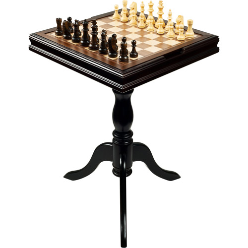 Trademark Games Deluxe Chess and Backgammon Table by TRADEMARK GAMES INC