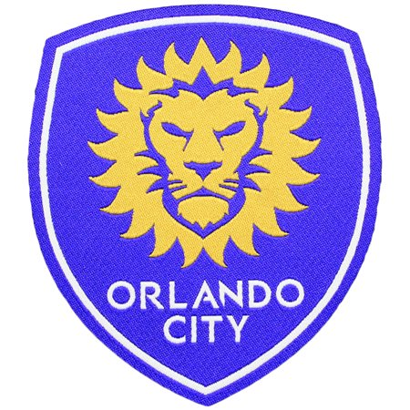 Orlando City Primary Team Crest Pro-Weave Jersey Patch - Party City In Orlando Fl
