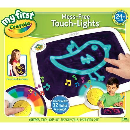My First Crayola Mess -Free Touch-Lights - Walmart.com