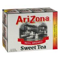 (2 Pack) Arizona Iced Tea, Southern Style Real Blend Sweet Tea, 11.5 Fl Oz, 12 Count