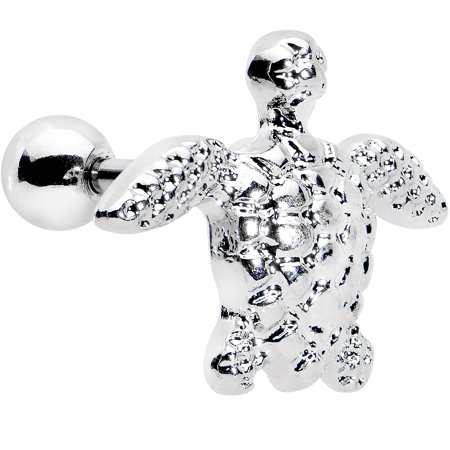 1480074ea Body Candy - Body Candy Stainless Steel Turtle Tragus Cartilage Earring 16  Gauge - Walmart.com