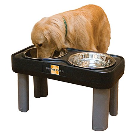 Big Dog Feeder Elevated Pet Dish Made Of Stainless Steel, Provides all the benefits of other elevated diners but stands 16 inches tall to accommodate.., By (Generics)