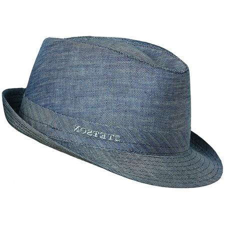 Stetson - Designer Men s Osceola Linen Hat Blue L - Walmart.com 49601855b06