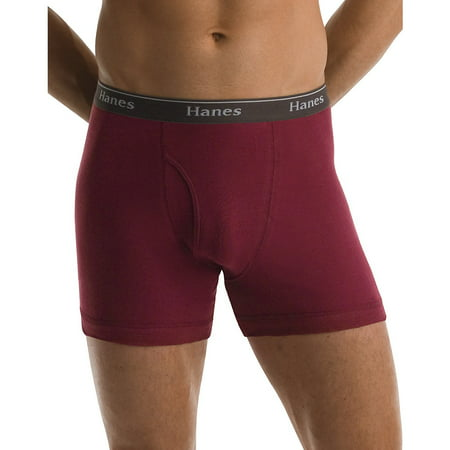 Hanes Mens 5-Pack Classics Boxer Brief