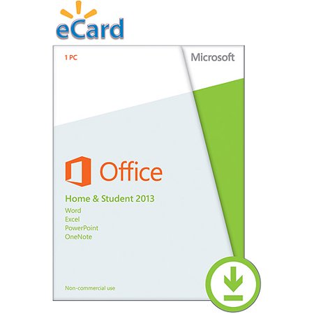 Microsoft Office Home Student 2013 Spanish (Email