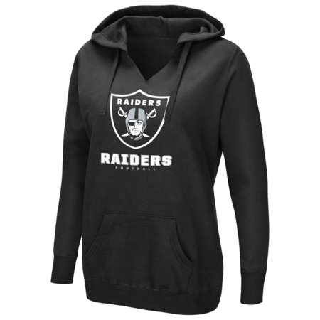- Women's Majestic Black Oakland Raiders Shape It Up Pullover Hoodie