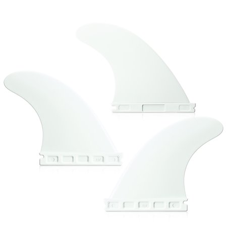 Future Tri Fin 4.37'' Surfing Tri Fin Set Surfboard Fins FCS Future Fin Thruster 3 Packs