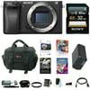 Sony a6300 Mirrorless Digital Camera Body w/ 32GB SD Card Bundle