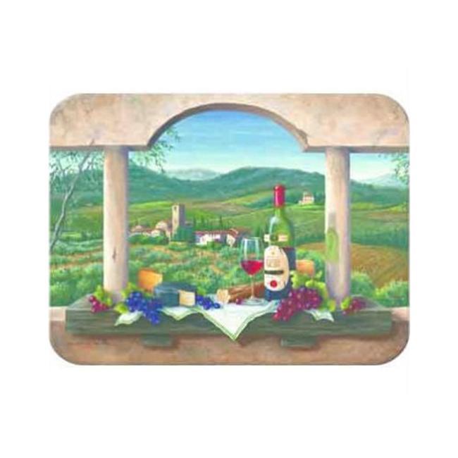 McGowan TT00681 Tuftop Wine Country Cutting Board- Small