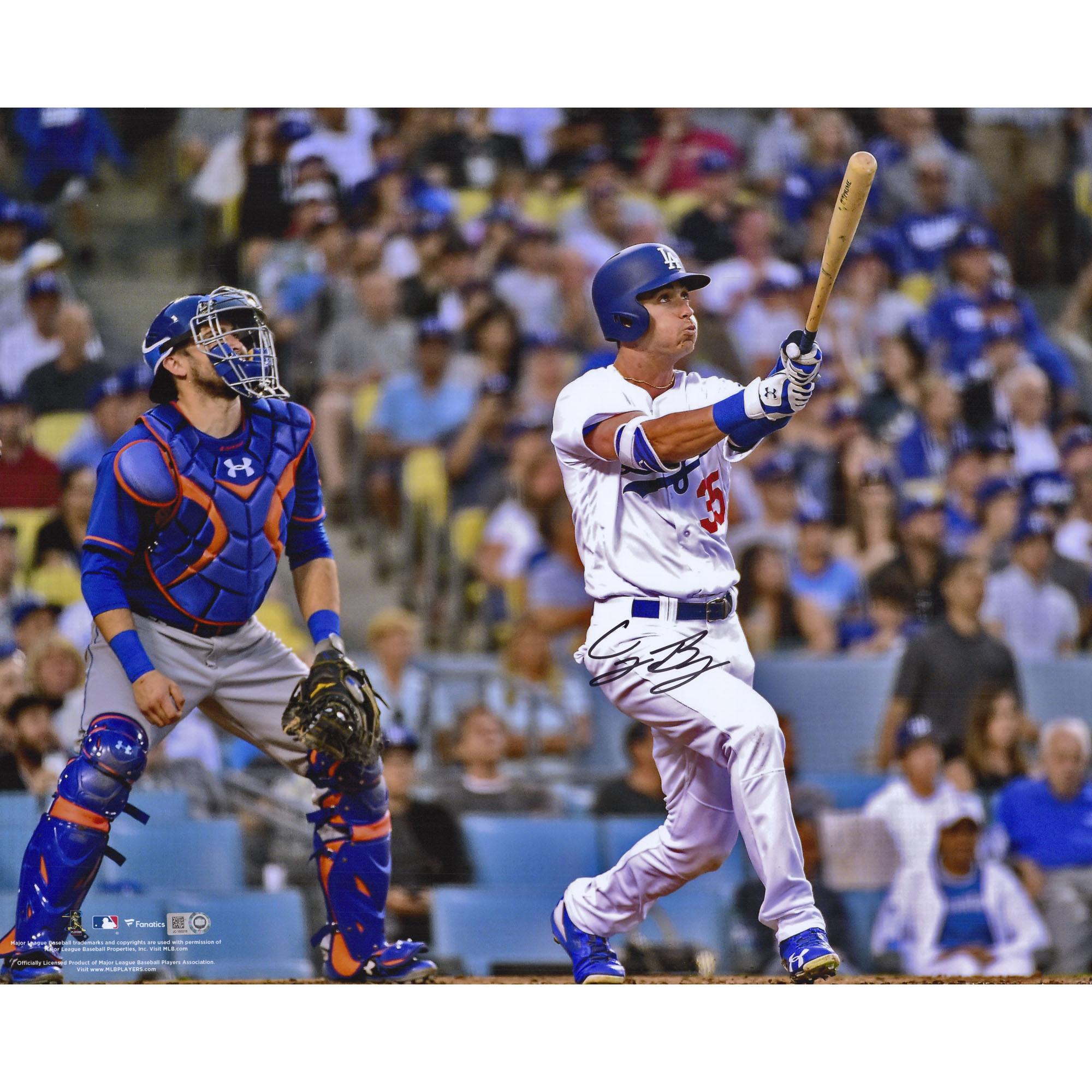 "Cody Bellinger Los Angeles Dodgers Fanatics Authentic Autographed 16"" x 20"" Hitting Home Run Photograph - No Size"