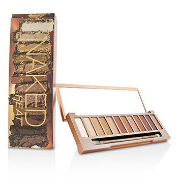 Urban Decay Naked Heat Palette: 12x Eyeshadow, 1x Doubled Ended Blending / Detailed Crease Brush  -](Urban Decay Electric Palette Halloween)