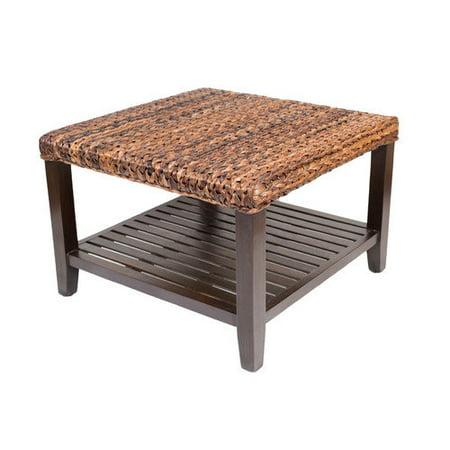 Birdrock Home Abaca Coffee Table