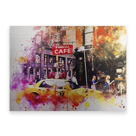 Trademark Fine Art 'NYC Watercolor Collection - In Soho' Canvas Art by Philippe Hugonnard (Soho Nyc)