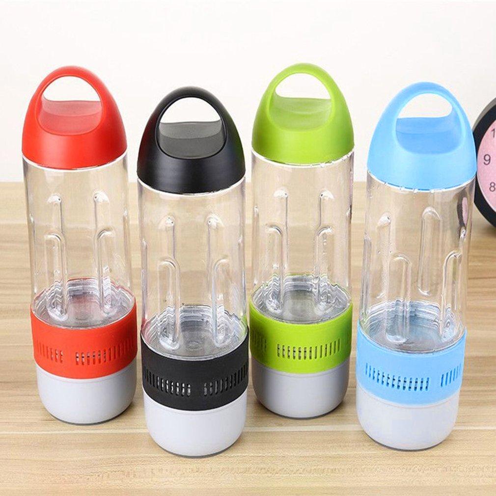 400ml Smart Water Bottle Wireless Bluetooth Speaker Shape Outdoor Sound Stereo