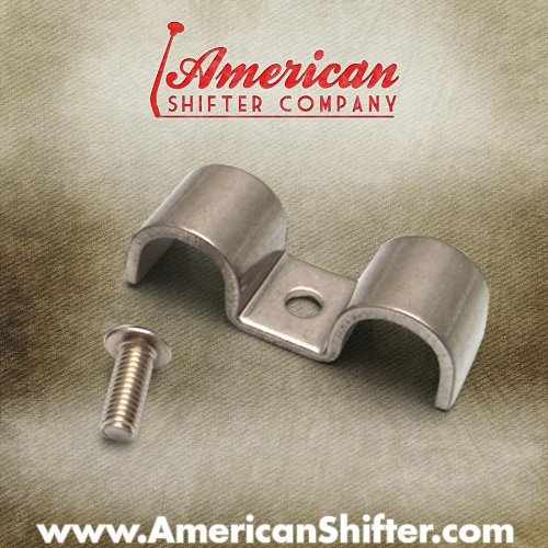 American Shifter 61301 Stainless Steel Double Line Clamp, Pack of 12 (5 8) by American Shifter