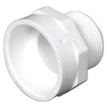 Charlotte Pipe Male Adapter Pvc Dwv 2