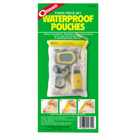 Coghlans 3 Piece Waterproof Pouch
