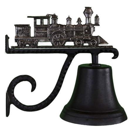 Cast Bell with Swedish Iron Train