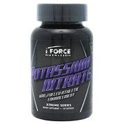 iForce Nutrition Potassium Nitrate, 120 Capsules
