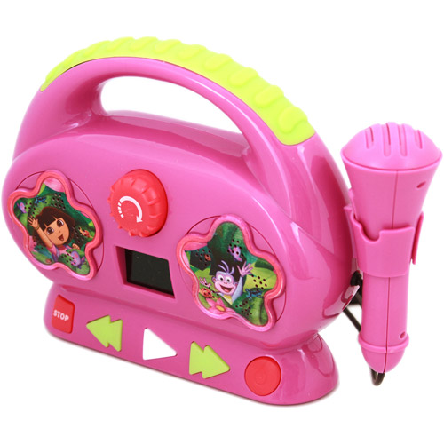 Sakar Dora Sing-a-Long Karaoke Machine by Sakar