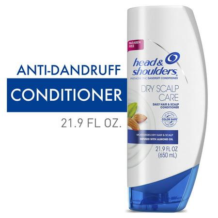 Head and Shoulders Dandruff Conditioner, Dry Scalp Care, 21.9 fl oz