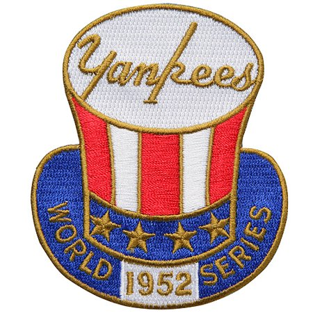 New York Yankees 1952 World Series Anniversary and Commemorative Patch - No Size