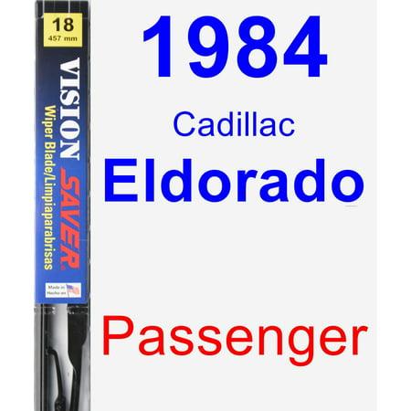 - 1984 Cadillac Eldorado Passenger Wiper Blade - Vision Saver