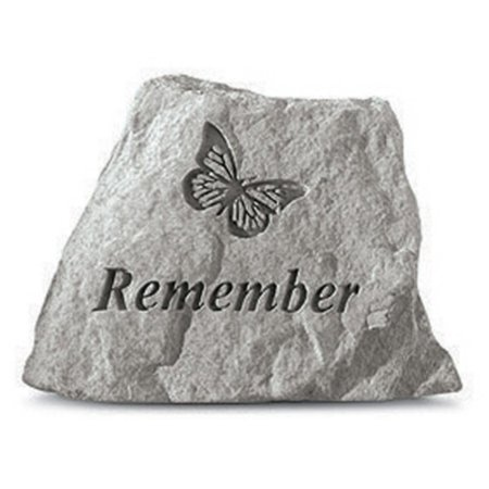 Remember Garden Accent Stone - Butterfly Design