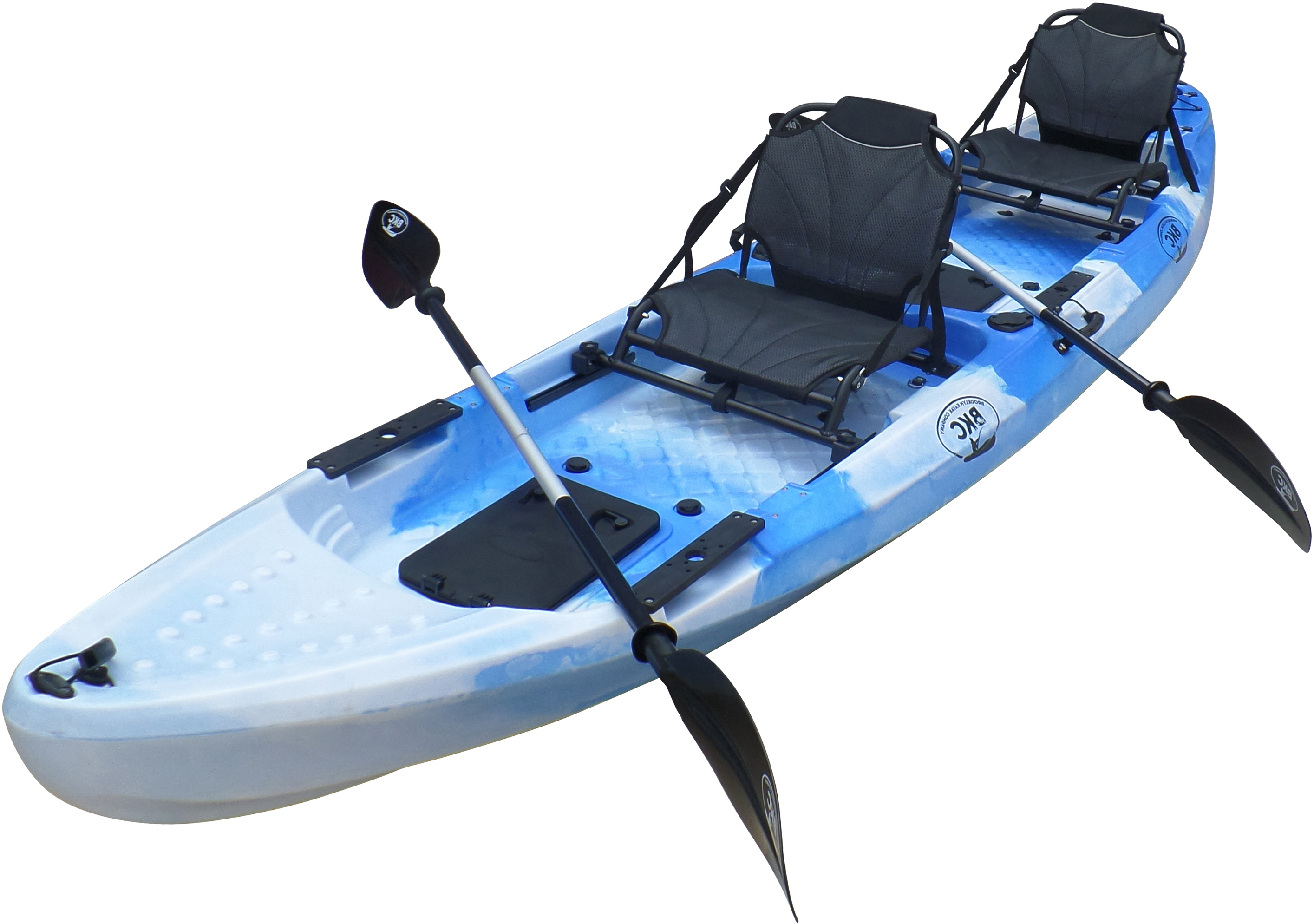 BKC UH-TK29 13-Foot 1-inch Tandem 2 Person Sit On Top Fishing