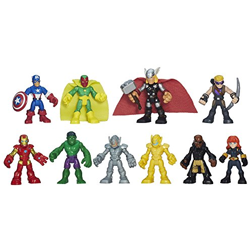 Playskool Heroes Marvel Super Hero Adventures Ultimate Super Hero Set by