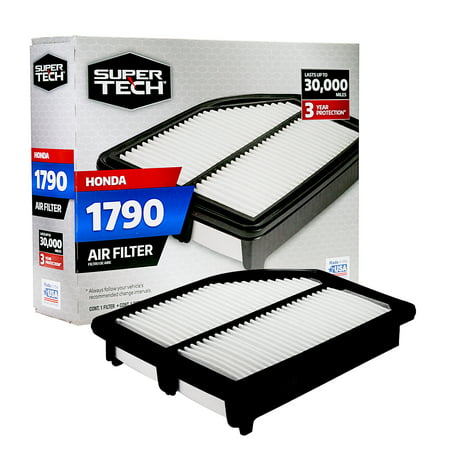 SuperTech 1790 Engine Air Filter, Replacement Filter for Honda ()
