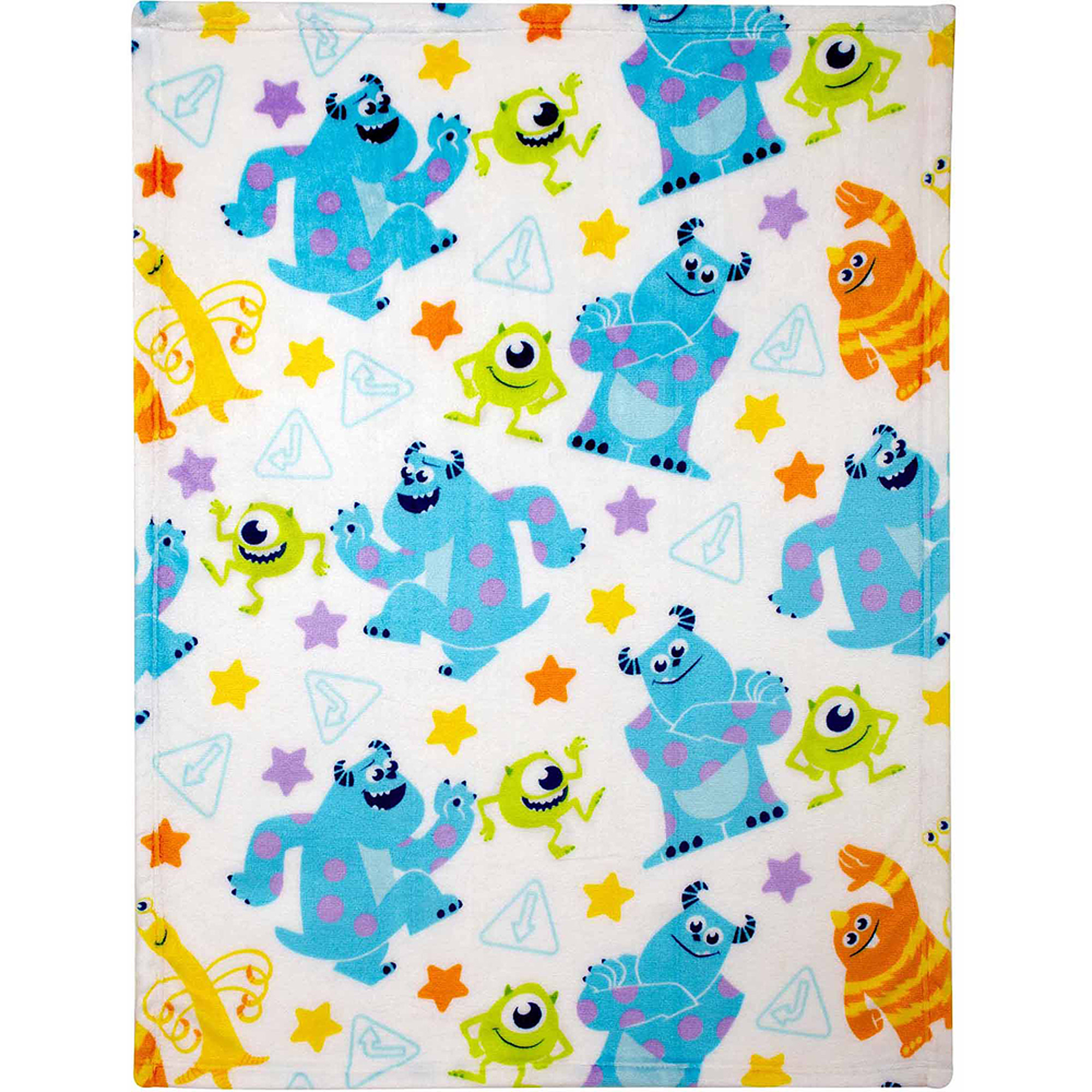 Disney Monsters Plush Printed Blanket
