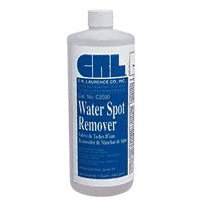C2030 CRL Water Spot Remover - Quart Bottle, Removes Alkaline Residue, Chemical and Mineral Deposits From Uncoated Clear and Float Surfaces By C.R. Laurence