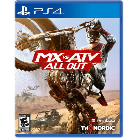 MX vs. ATV: All Out, THQ-Nordic, PlayStation 4,