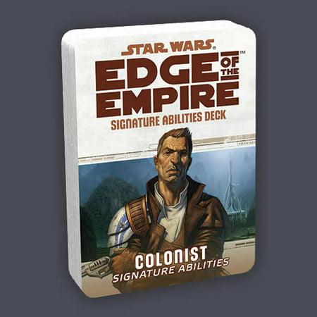 Colonist Signature Deck Star Wars Edge Of The Empire Rpg Fantasy Flight Games