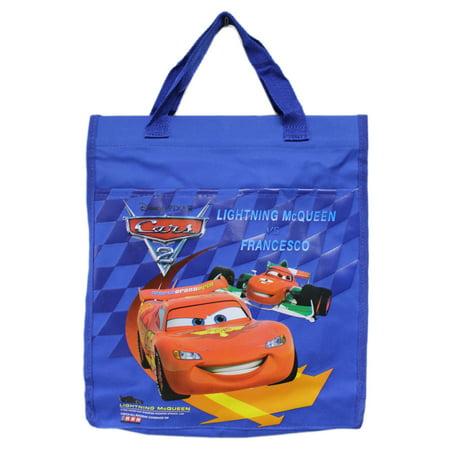 Alexander Mcqueen Handbags - Disney Pixar's Cars 2 Lightning McQueen vs. Francesco Medium Tote Bag