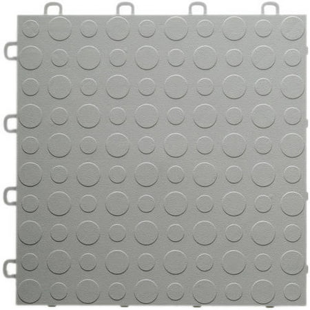 Blocktile Modular Interlocking Garage Floor Tiles Set Of 30 12 X