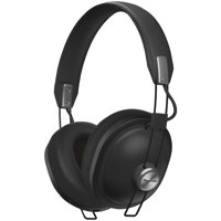 Panasonic RP-HTX80B-K Retro Bluetooth Over-Ear Headphones (Matte Black)