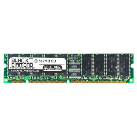 512MB RAM Memory for HP Server Integrity rc, rx, tc Series Carrier Grade Server CC2300, Carrier Grade Server CC3300 Black Diamond Memory Module SDRAM ECC UDIMM 164pin PC133 133MHz (512 Mb Sdram Kit)
