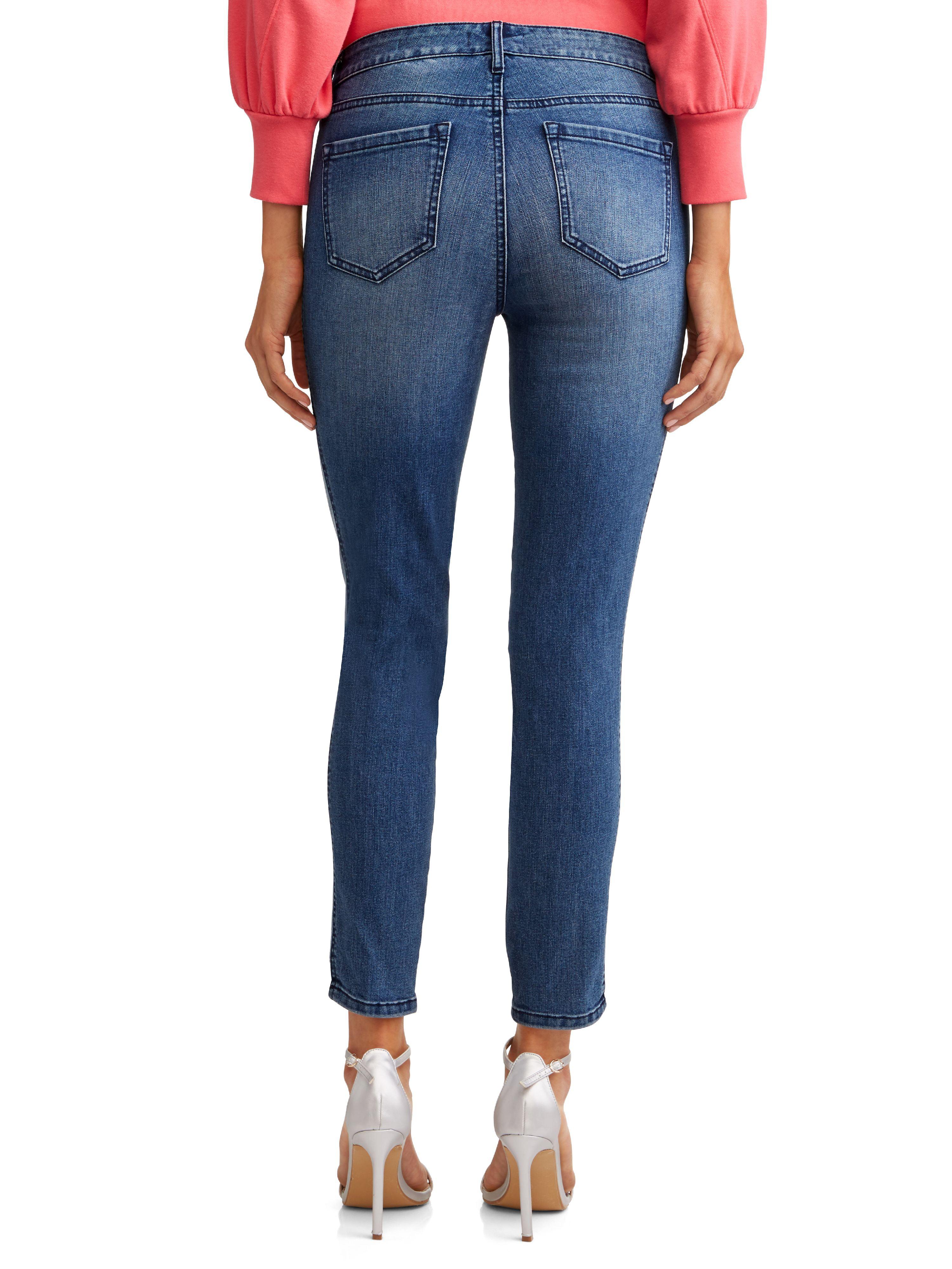 19404e81e9 Sofia Jeans by Sofia Vergara - Sofía Skinny Side Stripe Mid Rise ...
