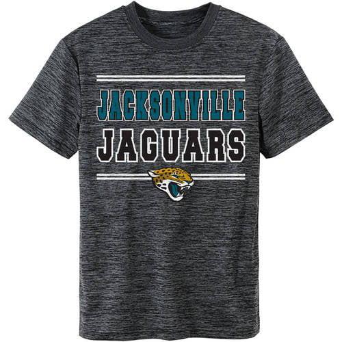 NFL Jacksonville Jaguars Youth Short Sleeve Space Dye Tee