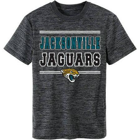 NFL Jacksonville Jaguars Youth Short Sleeve Space Dye Tee by