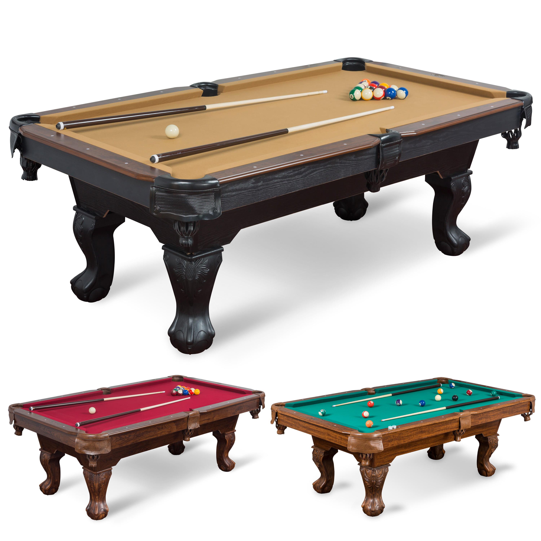 Classic Sport 87-inch (7ft. 3 in.) Brighton Billiard Table, Tan