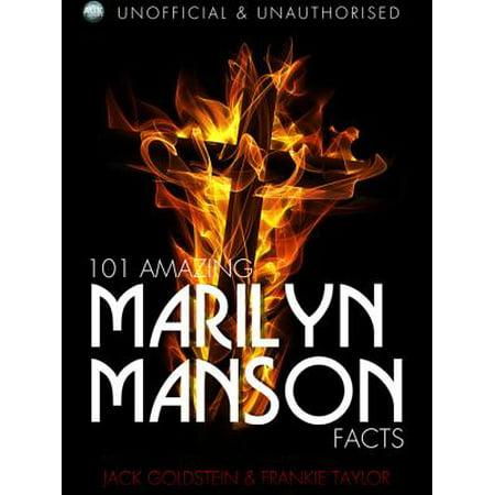 101 Amazing Marilyn Manson Facts - eBook - Marilyn Manson Halloween Mix
