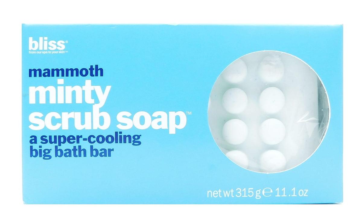 Bliss mammoth Minty Scrub Soap 11.1 Oz. - Walmart.com