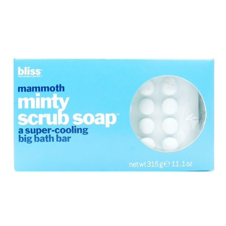 Bliss Mammoth Minty Scrub Soap 11 1 Oz