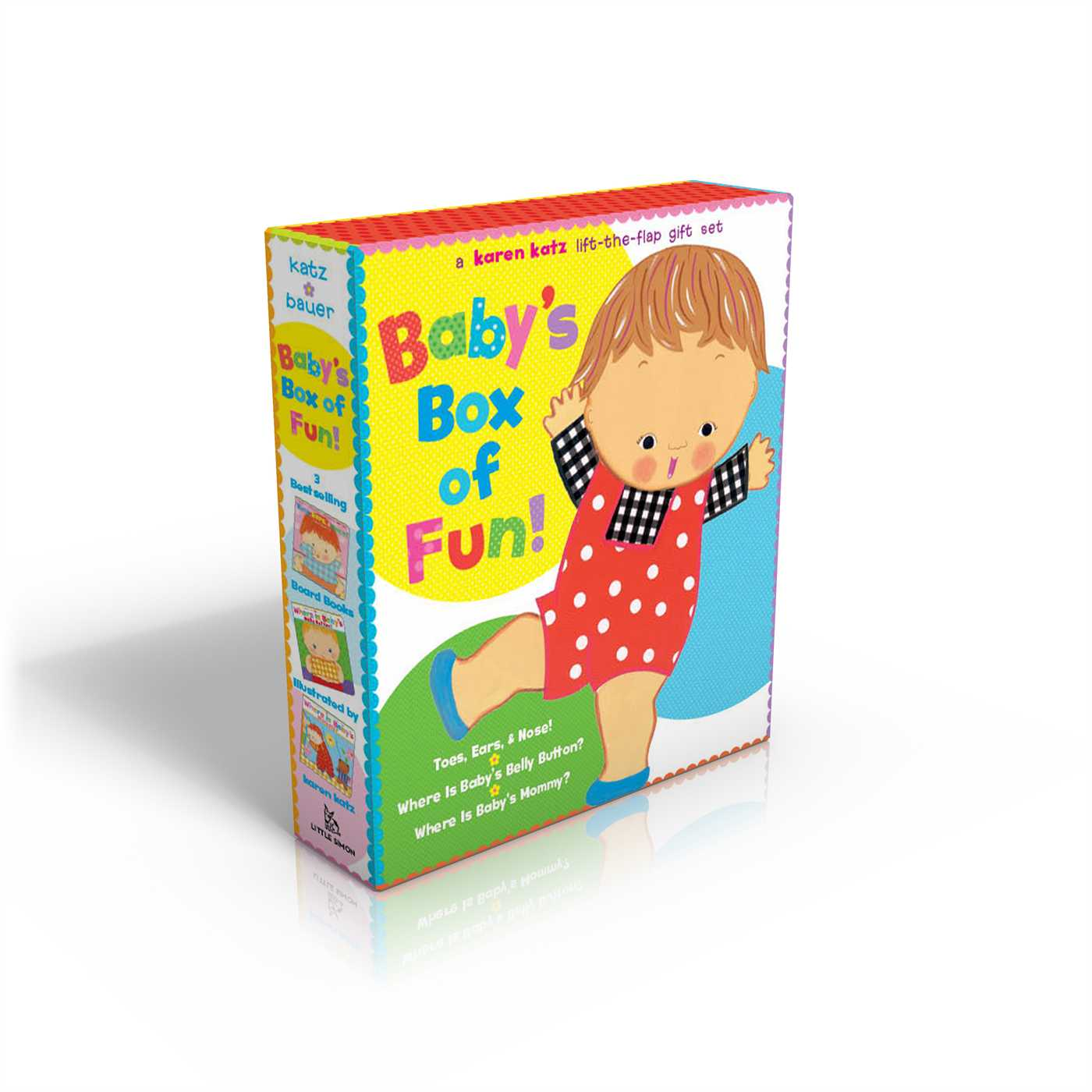 Baby's Box of Fun : A Karen Katz Lift-the-Flap Gift Set: Where Is Baby's Bellybutton?; Where Is Baby's Mommy?: Toes, Ears, & Nose!