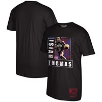 Isaiah Thomas Detroit Pistons Mitchell & Ness Hardwood Classics 90's Collection T-Shirt - Black
