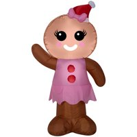 product image airblown inflatables gingerbread woman 4