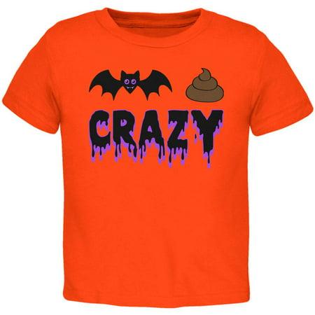 Halloween Bat Poop Crazy Toddler T Shirt](Crazy Halloween Photos)